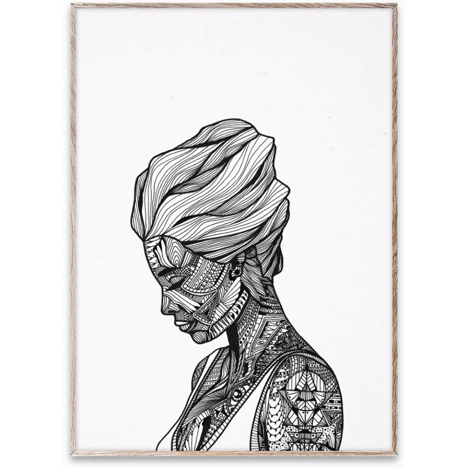 tablou-cu-rama-stejar-reflection-paper-collective_73303
